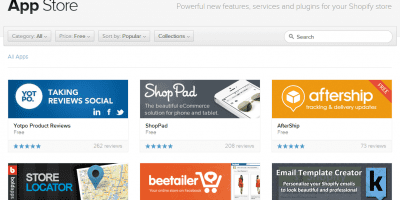 An Overview of the Shopify App Store